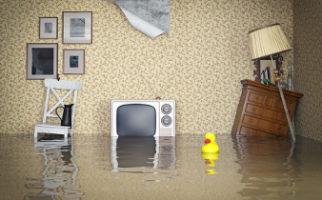 Πλημμυρισμένο αποχετευτικό δίκτυο